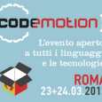 Mancano pochi giorni per la terza edizione di Codemotion Roma, che sar replicato anche a Madrid e Berlino e che ha visto l&#8217;anno scorso ladesione di oltre 3700 partecipanti, 25...