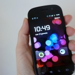 Nexus S in my hands