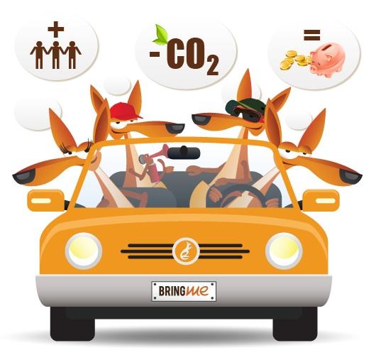servizio di carpooling