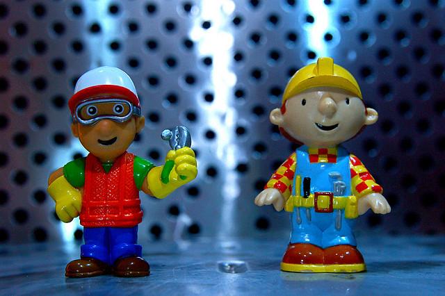 Handy Manny vs. Bob the Builder
