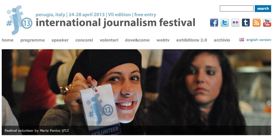Festival internazionale giornalismo