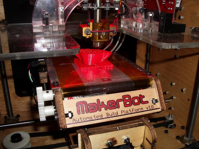 3D printer - Foto di Maria Keays