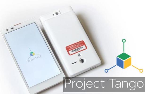 Google Project Tango smartphone