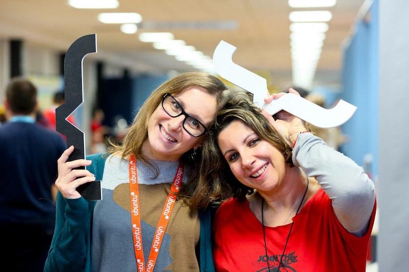 Silvia e Flavia a Codemotion