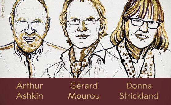 #NobelPrize in Physics 2018