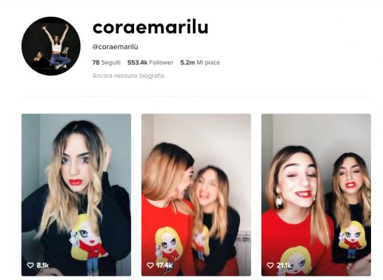 Cora e Marilù