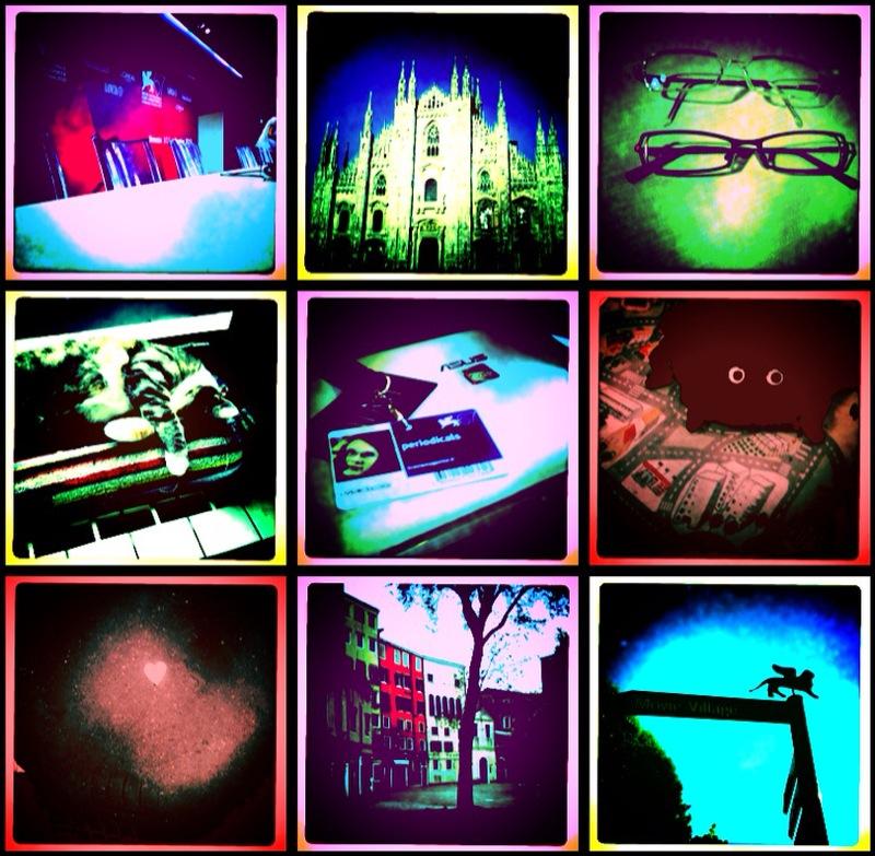 Collage eseguito con LoFi - Foto di Daniela Losini